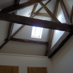 Barn conversion beams SJ Joinery & Building services Staffordshire