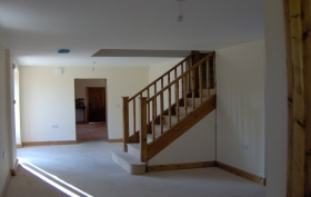 Renovations and Barn conversion specialists stair case SJ Joinery & Building Services Tean, Stoke, Stafford, Burton, Derby